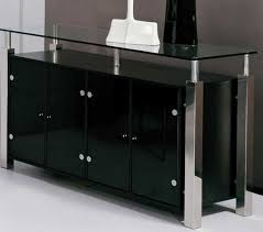 modern glass buffet cabinet modern dining room buffet cabinet with glass top home interior
