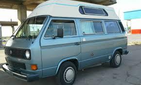 volkswagen vanagon blue vw vanagon camper for sale in michigan