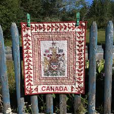 Canadian Flag Lingerie Canada Quilt Canada 150 Canada Geese Wall Hanging
