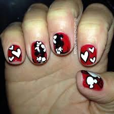 36 best minnie mouse nails images on pinterest disney cruise