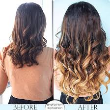 honey brown hair with blonde ombre vpfashion customized hair extensions in 2014 trendy hair colors