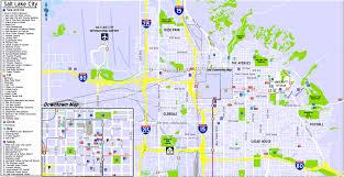 Salt Lake City Airport Map Salt Lake City Map Png