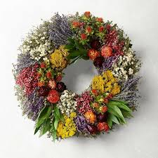 ro celebrate fun christmas wreath ideas for a colourful home