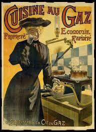 affiche cuisine retro cuisine au gaz affiche vieilles affiches vintage