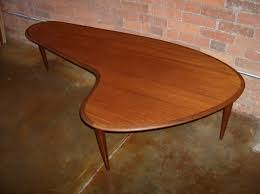 Boomerang Coffee Table Cool Designs Mid Century Modern Coffeehome Design Styling