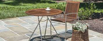 Stainless Steel Patio Table Northern Virginia Stainless Steel Outdoor Furniture Washington Dc