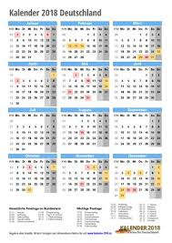 Kalender 2018 Hamburg Kostenlos Drucken Kalender 2018 Zum Ausdrucken Pdf Vorlagen