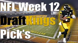Football Thanksgiving Games Draftkings Nfl Week 12 Thanksgiving Pick U0027s Dfs Fantasy Football