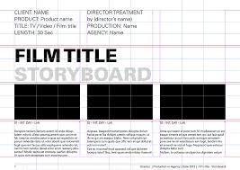 storyboard templates u2013 film storyboards