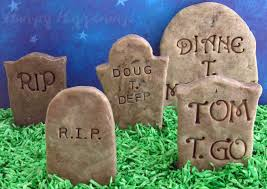 add clever epitaphs to cookies u0027n cream fudge tombstones this