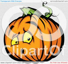 pumpkin no background clipart of a surprised halloween pumpkin character royalty free