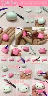 Cake Decorating Figures How To Make Tutorial On How To Make A Hello Kitty Fondant Or Gum Paste Cake