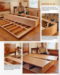 Woodworking Plans Storage Bed by 2733 Under Bed Storage Plans Furniture Plans Storage Beds