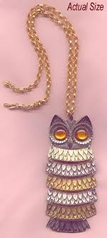 owl vintage necklace images Vintage signed necklaces vintage designer necklaces jpg