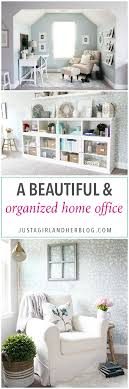 organized home a beautiful and organized home office tour just a girl and her blog