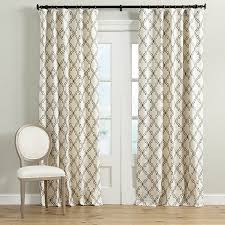 Drapery Exchange Rosselli Embroidered Drapery Panel Ballard Designs