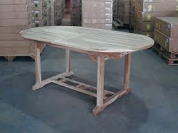 dina teak table set w shelia folding chairs