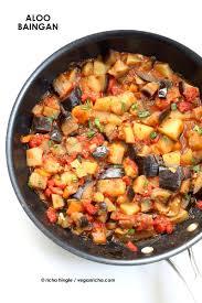 easy cuisine toulouse aloo baingan recipe potato eggplant curry vegan richa