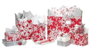christmas wrap bags let it snow with snowflake bags boxes wrap ribbon