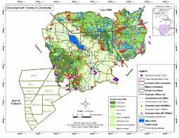 Map Of Cambodia Development Trends In Cambodia Jpg