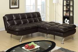 brown leather twin size sofa bed steal a sofa furniture outlet