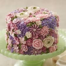 flower cake blossoming flowers cake wilton