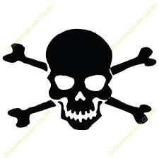skull and cross bones clipart free best skull and cross