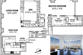 Trump S Apartment Floor Plan Floorplan Mysterious Disappearing Bedrooms Edition Curbed Ny