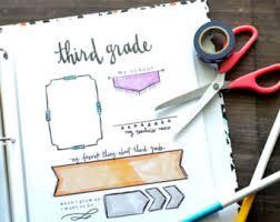 senior memory book school memory book etsy