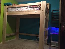 How To Build A Loft Bed With Desk Underneath by Loft Beds 11 Steps