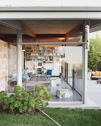 a midcentury home keeps the history alive grey house and angeles