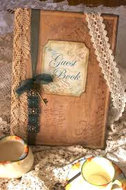 vintage wedding guest book 70 best wedding guest books images on wedding guest