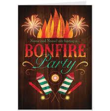 Event Invitation Cards Bonfire Party Invitations Theruntime Com