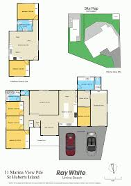 2 Bedroom Granny Flat Floor Plans 11 Marina View Parade St Huberts Island Nsw 2257 For Sale