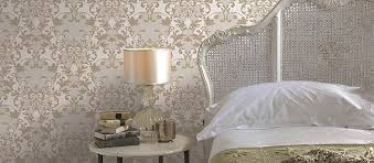 Bedroom Wallpaper Design  Ideas From Nilaya By Asian Paints - Bedroom wallpaper design ideas
