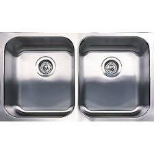 Elkay Neptune Undermount Stainless Steel  In Hole Double Bowl - Metal kitchen sinks
