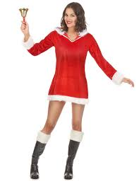 mrs claus costumes mrs claus costume for women vegaoo