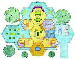 house plans hexagon custom house design plans