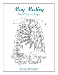 may free coloring pages color me caring