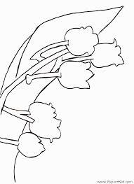 Coloriage Bouquet de muguet à imprimer dans les coloriages Muguet
