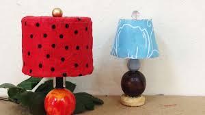 Diy Mini Desk Lamp How To Make A Cute Miniature Dollhouse Lamp Shades Diy Crafts