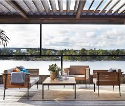 Teak And Stainless Steel Outdoor Furniture by Outdoor Trend Modern Teak Furniture