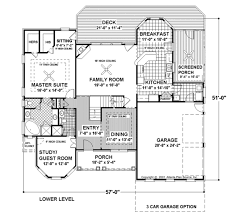 european style house plan 4 beds 3 00 baths 2253 sq ft plan 56 178