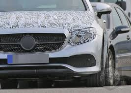 best mercedes coupe spied the heavy camo comes best look yet at the all