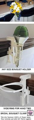 bridal bouquet holder table clip bridal bouquet cl attach to bridal table to hold wedding