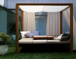 outdoor canopy bed build an outdoor canopy bed sandydeluca design