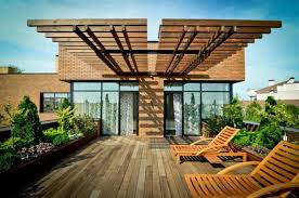 Open Patio Designs Open Patio Design Ideas At The Roof Top Back House Area With
