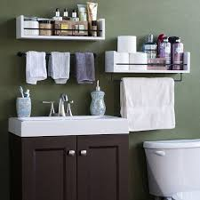 metal bathroom wall shelves amazoncom white rustic bathroom wood wall shelf with metal rail