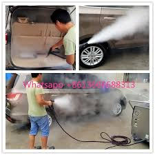 Clean Sofa With Steam Cleaner Auto Car Cleaning Machine Steam Mobile Portable Diesel Heating