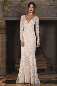 Vintage Inspired Wedding Dresses Claire Pettibone Fall 2017 Collection Bridal Fashion Week Photos